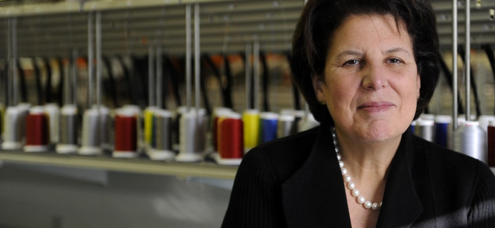 Suzy Ganz: CEO of manufacturing company Lion Brothers